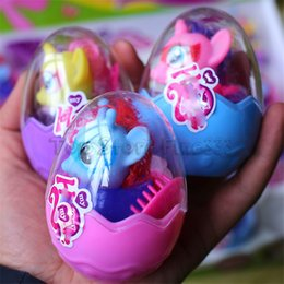 Hair comes online shopping - Pony Egg Doll Toys CM Pony Egg Hair Pony color Mix COME With Retail box