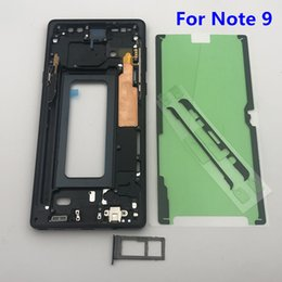 $enCountryForm.capitalKeyWord Australia - Note 9 Replacement Middle Frame Bezel Housing Chassis For Samsung Galaxy Note 9 N950 SM-N960F N960FD Single Dual SIM