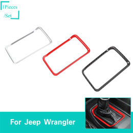 $enCountryForm.capitalKeyWord Australia - ABS Car Four-wheel Drive Ring Decoration For Jeep Wrangler JL 2018 Up Factory Outlet High Quatlity Auto Internal Accessories