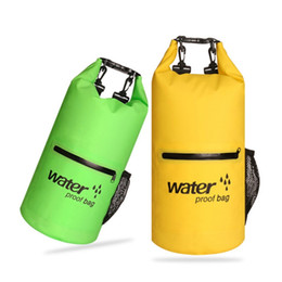 $enCountryForm.capitalKeyWord Australia - Floating Waterproof Dry Bag Roll Top Sack Kayaking Rafting Boating Swimming Dry Organizer Beach Fishing Storage Sportswear Bag