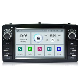 "$enCountryForm.capitalKeyWord Australia - COIKA 6.2"" Android 9.0 System Quad Core Car DVD Head Unit Stereo For Toyota Corolla E120 BYD F3 GPS Navi Multimedia DVD BT WIFI OBD"