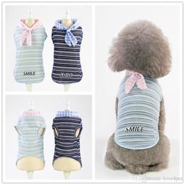 Easter Vest Australia - F152 pet dog summer vest pet cotton vest puppy cotton vest cool thin summer T-shirt small pets summer clothes