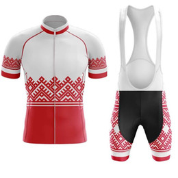 reflective cycling jersey sets NZ - Poland New Team Cycling Jersey Customized Road Mountain Race Top max storm Cycling Clothing three styles for you to choose cycling sets