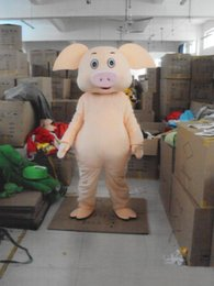 Halloween Costumes Mascots Australia - 2019 New Profession Pig Mascot Mascot Costumes Halloween Cartoon Adult Fancy Party Dress free shipping
