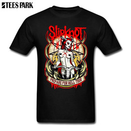 Music Man T Shirt Australia - Team T-Shirt Slipknot Music Design Novelty T Shirts Streetwear Men T Shirt for Men Man Awesome Shirt Designs Digital