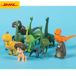 $enCountryForm.capitalKeyWord Australia - 12 Pcs set The Good Dinosaur Little Alo Bach Henry Tyrannosaurus Rex Cake Decoration Cute Plastic Action Collectible Model Toy 3-6CM OPP G71