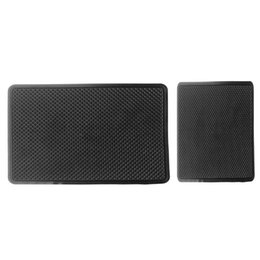 Chinese  VODOOL M L Size Car Auto Center Armrest Dashboard Grid Pattern Sticky Pad Foldable Vehicle Phone Glasses Key Non Slip Mat Holder VODOOL manufacturers