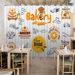 $enCountryForm.capitalKeyWord NZ - Custom Mural wallpaper 3d fashion gourmet bakery shop wooden wall background wall papers Home Decor Commerce use mural papel de parede 3d