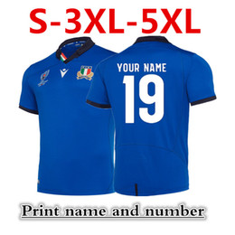Chinese  ITALY HOME 2019 JERSEY Argentina WALES SCOTLAND HOME RUGBY ITALY RUGBY RWC 2019 HOME PRO JERSEY Size S-5XL (can print) manufacturers