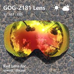 $enCountryForm.capitalKeyWord Australia - Magnetic Lenses For Ski Goggles Gog-2181 Lens Anti-fog Uv400 Spherical Ski Glasses