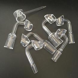$enCountryForm.capitalKeyWord NZ - New 4mm Thick 100% Domeless Quartz Banger Nail + Quartz Carb Cap honey buckets banger glass bong VS ceramic nail titanium nail