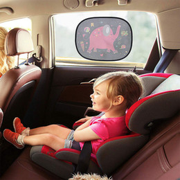 $enCountryForm.capitalKeyWord Australia - 44x35cm UV Protection Cute Windshield Darkening Car Sun Shade Electrostatic Adsorption Cartoon Easy Install Removable Rollable
