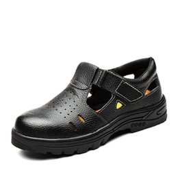 $enCountryForm.capitalKeyWord Australia - Men's Safety Shoes Work Boots Summer Construction Men Outdoor Puncture Proof Anti Smash Steel Toe Safety Work Shoes Ankle Boots