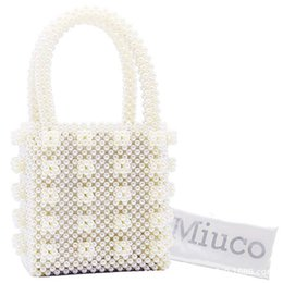 $enCountryForm.capitalKeyWord NZ - 2019FW Little ins with the same bag artificial Pearl weaving heavy industry hand bag Pearl handbag