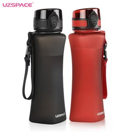 classic plastics Australia - Uzspace Sports Water Bottles 500ml Fashion 6 Colors Protein Shaker Hiking Travel My Bottle For Water Plastic Drinkware Bpa Free J190723