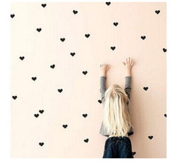 $enCountryForm.capitalKeyWord NZ - Gold Polka hearts Kids Room Baby Room Wall Stickers Children Home Decor Nursery Wall Decals Wall Stickers For Kids Room Wallpaper