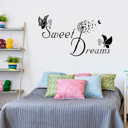 $enCountryForm.capitalKeyWord Australia - Sweet Dreams Wall Decal Quotes DIY Removable Lettering and Saying Art Mural Sticker for Babys Rom Home Decor