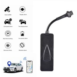 vehicle tracker systems Canada - Universal Motorcycle Moto Vehicle Car Gps Tracker Locator Tracking Device Anti Theft Alarm System Remote Monitoring, Recording