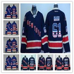 New York Rangers Jerseys Hockey 30 Henrik Lundqvist 36 Mats Zuccarello 61  Rick Nash 27 Ryan McDonagh 11 Mark Messier Jerseys 8dae64191