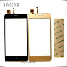 touchscreen screen Australia - Syrinx With 3M Tape Moible Phone Touchscreen Sensor For Leagoo Kiicaa Power Touch Screen Digitizer Front Glass Panel Lens