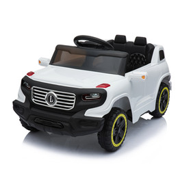 6V Single Drive Toys Car Safety Kids Ride on Car Electric Battery Power Wheels Music and Light Wireless Remote Control 3 Speed US Stock on Sale
