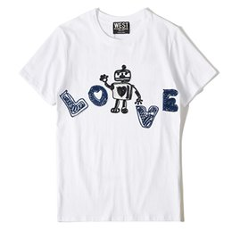 $enCountryForm.capitalKeyWord Australia - New Novelty Punk Men Fashion T Shirts Embroidery Robot Love T-shirt Hip Hop Skateboard Street Cotton T-shirts Tee Dog #g6