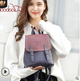 $enCountryForm.capitalKeyWord Australia - South Korea fashion retro lady backpack 2019 new versatile student youth backpack bag bag for a generation