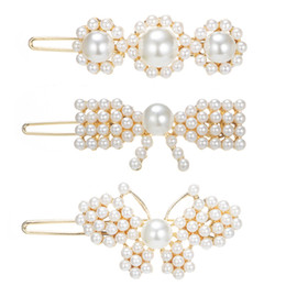 hair comb clips asian Australia - Wedding Bridal Bridesmaids Flower Girl Crystal and Pearl Side Hair Comb Slide Headpiece Long Curly Bun Hair Accessories