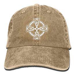 e82f84df39e 2019 New Cheap Baseball Caps Mens Cotton Washed Twill Baseball Cap Celtic  Cross Knot Irish Shield Warrior Hat
