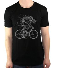 $enCountryForm.capitalKeyWord NZ - Skeleton Cycling Bicycle Ghost Bone Bike Fixie Men 039 s T Shirt