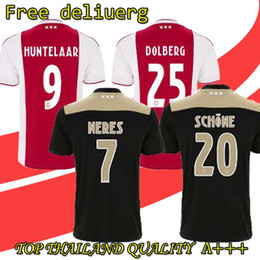 5bf6fa54 Football jerseys are sold wholesale top quality 2018 2019 Ajax FC Soccer  Jerseys kids kits 18 19 Camisa NERES DE LIGT VEN Football Shirts