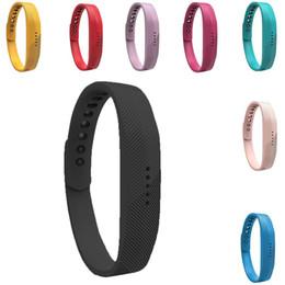 $enCountryForm.capitalKeyWord Australia - Fashion Silicone Smart Wrist Watch Strap for Fitbit Flex 2 Fashion Wrist Watch Strap