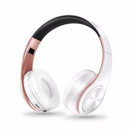Wireless Headphones Mic Blue Australia - New arrival colors wireless Bluetooth headphone stereo headset music headset over the earphone with mic for iphone sumsamg