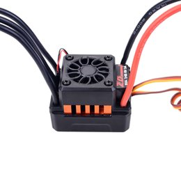 ZD Racing 1 8 1 10 remote control model car waterproof 80a brushless ESC on Sale