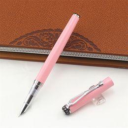 Metal Fines Australia - Jinhao 301 diamond Fountain Pen with 0.38mm Extra Fine Nib inks pen luxury metal Finance pens office school supplies