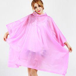 $enCountryForm.capitalKeyWord Australia - Cloak Raincoat Disposable Eco-friendly Rain Coat EVA Single-person Rainwear Universal Rain Poncho Coat Impermeable Waterproof