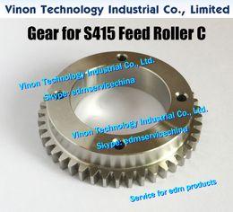 $enCountryForm.capitalKeyWord Australia - edm Gear (Stainless Steel type) for S415 Feed Roller C 118534C size: Ø72x42x14.5tmm, for Sodic AQ327,AQ300L,AQ537L,SL400,SL600 (New model)