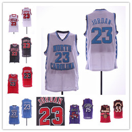 6d1dc4d6625 North Carolina Tar Heels 23 Michael Jersey Vince 15 Carter Atlanta  55  Dikembe Mutombo Basketball Jerseys