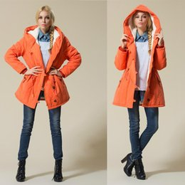 Wholesale E-BAIHUI Winter Jackets and Coats Women Parka Thick Wadded Especially Female Womens Outerwear Slim Warm Cotton Parkas Padded Coats L659
