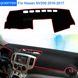 interior carpet NZ - Car Styling Dashboard Protective Mat Shade Cushion Photophobism Pad Interior Carpet For NV200 2010-2017 Auto Accessories