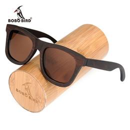 71487d9e9b31d BOBO BIRD Retro Wood Sunglasses Brand Designer brown wooden sunglasses  Style Square SunGlasses Gafas Oculos Masculino