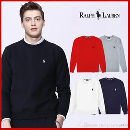 Wholesale clothing foreign online – oversize Autumn winter foreign trade Europe and the United States new men s clothing cotton fabric round collar head printed men long sleeve clo