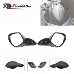 Acessórios Da Motocicleta Para Yamaha OEM PWC WaveRunner LH RH Motorboat Espelho Set 2005 2006 2007 2008 2009 VX 110 Deluxe / Cruiser em Promoção