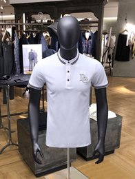 $enCountryForm.capitalKeyWord Australia - Trend men's high street clothes T-shirt fashion and 2019 summer shirt embroidery men's traditional charm Polo T-shirt