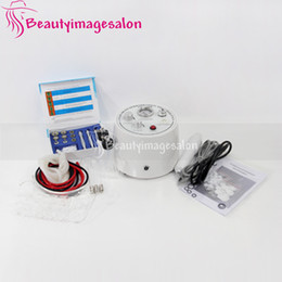 microdermabrasion vacuum spray machine NZ - Home Use Skin Care Diamond Microdermabrasion Dermabrasion Vacuum Spray High Frequency Acne Removel Machine New Beauty Infrared Device Spa