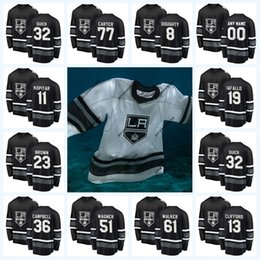 ingrosso re gioco-Anze Kopitar Los Angeles Kings All Star Game Jersey Drew Doughty Dustin Brown Jeff Carter Jonathan Quick Alec Martinez Kyle Clifford