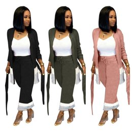$enCountryForm.capitalKeyWord UK - womens long sleeve tracksuit jacket pants sportswear hoodie legging 2 piece set sweat suit outerwear tights outfits sweat suit hot klw2179