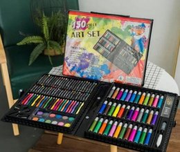 $enCountryForm.capitalKeyWord Australia - Children's 150 paintings, colored pencils, art brushes, stationery, supplies, gifts, school season, mobile studio, painting, must-have, stud