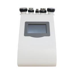 Cavitation Home Machine UK - Hot selling!!! Vacuum Ultrasound Cavitation RF machine for beauty salon home use