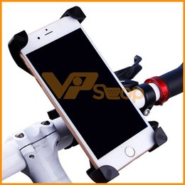 $enCountryForm.capitalKeyWord Australia - Universal 360 Rotating Bicycle Bike Phone Holder Handlebar Clip Stand Mount Bracket For Smart Mobile Cellphone With Retail Package